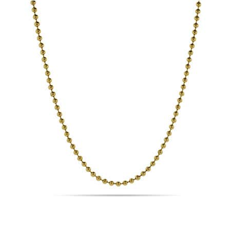 Gold IP Bead Chain