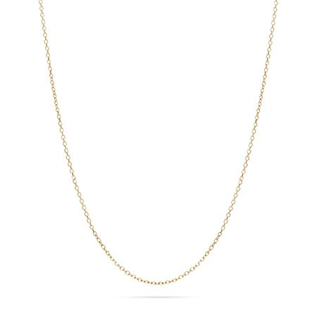 14K Gold Rolo Chain 16 Inch