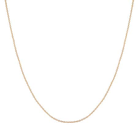 14K Gold Rolo Chain | 18 Inches in Length