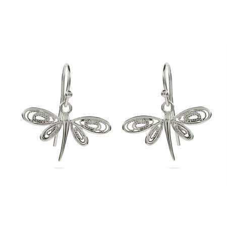 Dragonfly Earrings in a Vintage Design