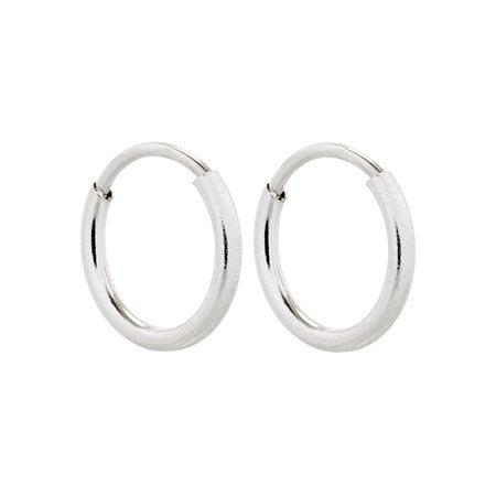 Simple Silver Hoop Earrings | Eve's Addiction®