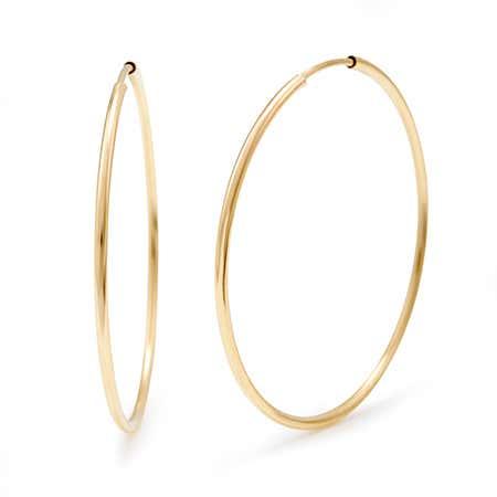 What does gold filled mean and 14k gold filled 1.5 inch hoop earrings large