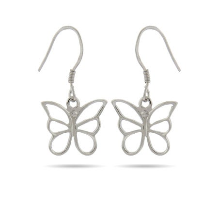 Butterfly Dangle Earrings | Eve's Addiction®