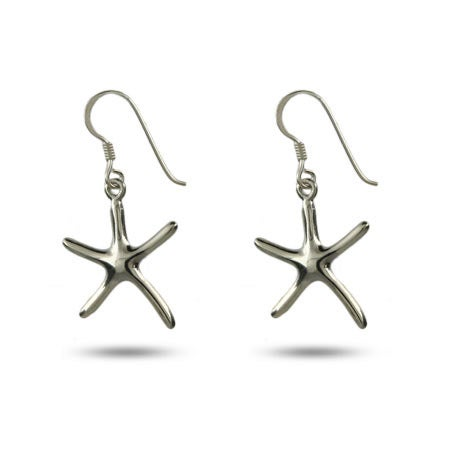 Designer Style Single Starfish Drop Earrings | Eve's Addiction®