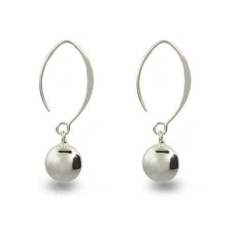 Dangling Bead Sweep Earrings | Eve's Addiction®