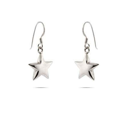 Star Dangling Earrings