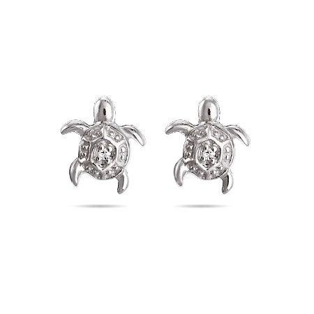 Petite Turtle Stud Earrings for Kids | Eve's Addiction®