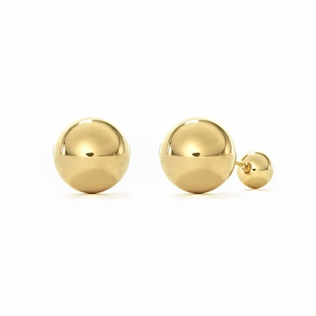 Gold Plated Stainless Steel 360 Studs | Eve's Addiction®