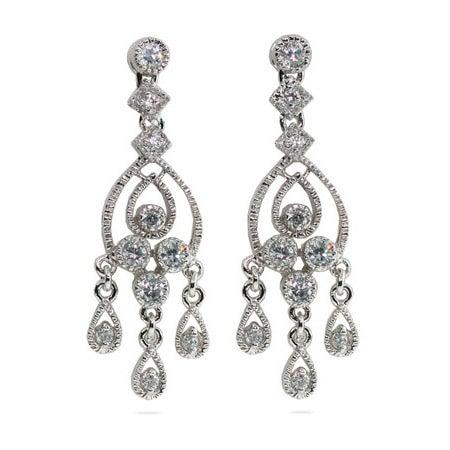 Celebrity Style Chandelier Earrings | Eve's Addiction®