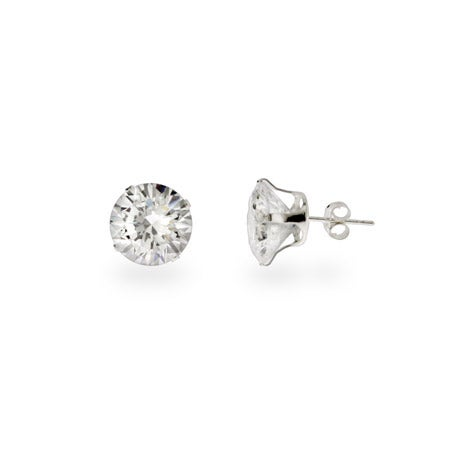Stunning 4 carat CZ Stud Earrings | Eve's Addiction®