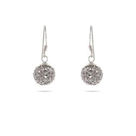Swarovski Crystal Dangle Bead Earrings | Eve's Addiction®