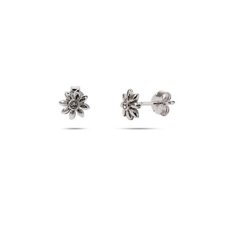 Petite Sterling Silver Daisy Stud Earrings | Eve's Addiction®