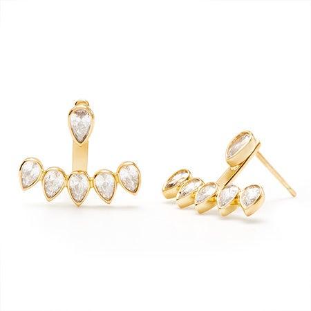 gorjana Kelsi Ear Jacket in Gold | Eves Addiction