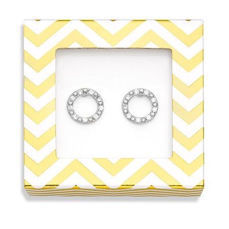 Foxy Clarissa Earrings in Silver