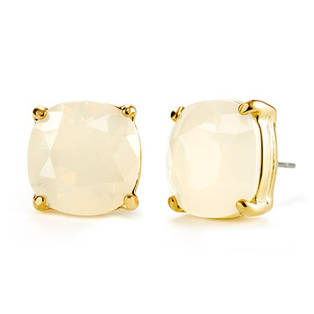 Fornash Charlotte Earrings with White Stones