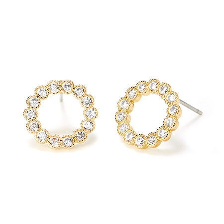 Fornash Holly Earrings in Gold