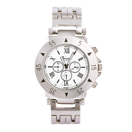 Men's Designer Style Watch in Stainless Steel | Eve's Addiction®