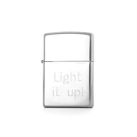 Personalized Classic High Polish Chrome Zippo Lighter