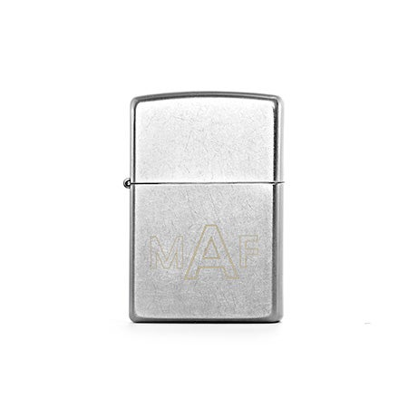Personalized Street Chrome Zippo Lighter