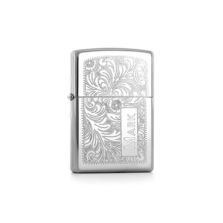 Personalized Venetian Zippo Lighter