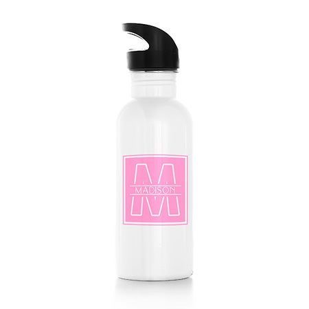 Personalized Initial Water Bottle