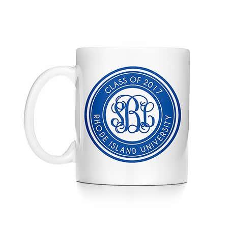 Personalized Monogram Graduation Mug