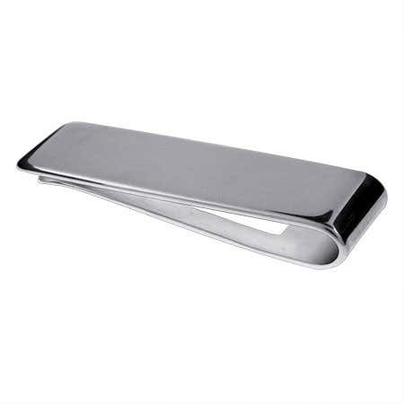Engravable Sterling Silver Money Clip