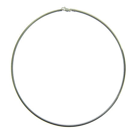 Sterling Silver Omero Necklace
