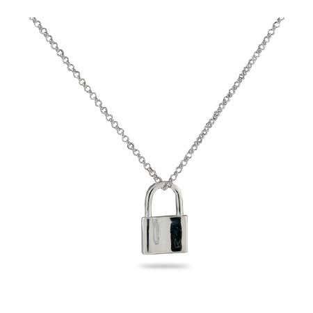 Engravable 1837 Lock Pendant | Eve's Addiction®
