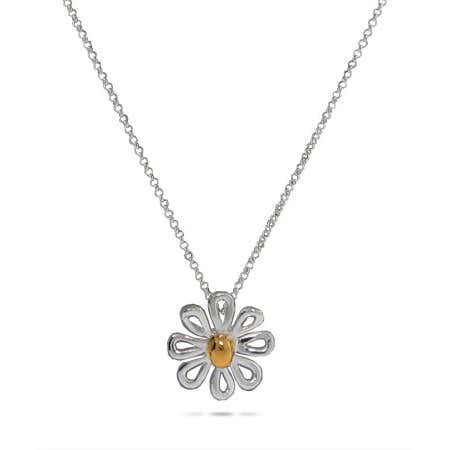 display slide 1 of 1 - Designer Style Daisy Pendant - selected slide