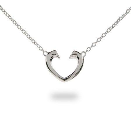 Designer Style Tenderness Heart Pendant | Eve's Addiction®