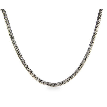 Men's Sterling Silver Bali Necklace