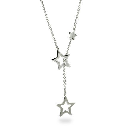 Designer Style Cascading Stars Lariat   Eve's Addiction®