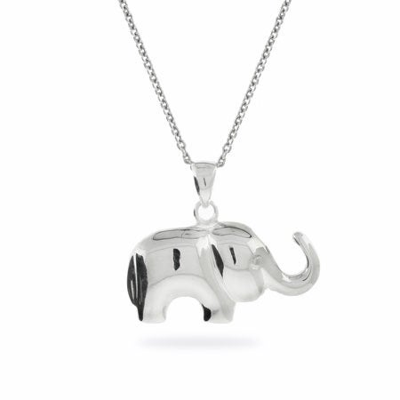 Silver Elephant Pendant | Eve's Addiction