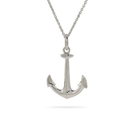 Anchors Away! Anchor Necklace | Eve's Addiction