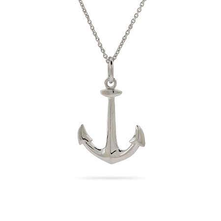 Anchors Away! Anchor Necklace
