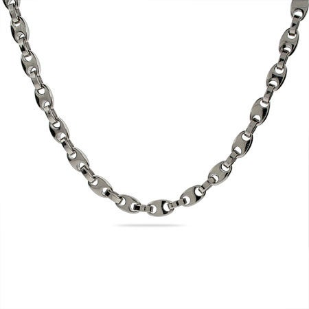 Men's Curb Link Stainless Steel Chain