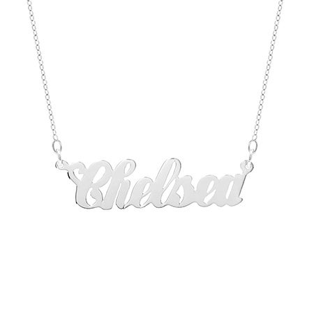 Simple Script Custom Name Necklace | Eve's Addiction®