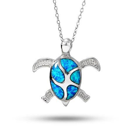 Blue Sea Turtle Necklace | Eve's Addiction®