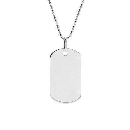 Custom Stainless Steel Large Dog Tag
