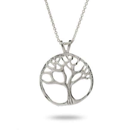Sterling Silver Tree Of Life Pendant | Eve's Addiction®