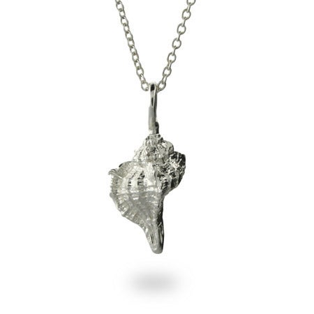 Conch Shell Charm Necklace