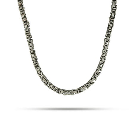 Men's Stainless Steel Bali Style Link Necklace