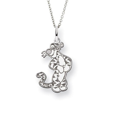 Sterling Silver Tigger Necklace