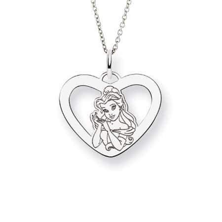 Beauty & The Beast Belle Necklace