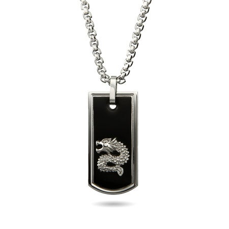 Chinese Dragon Engravable Dog Tag  | Eve's Addiction®