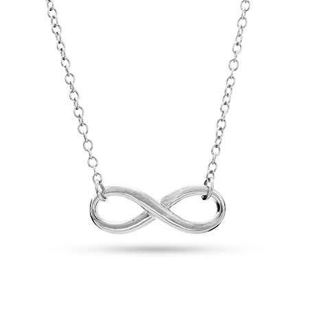 Designer Style Infinity Symbol Necklace | Eve's Addiction®