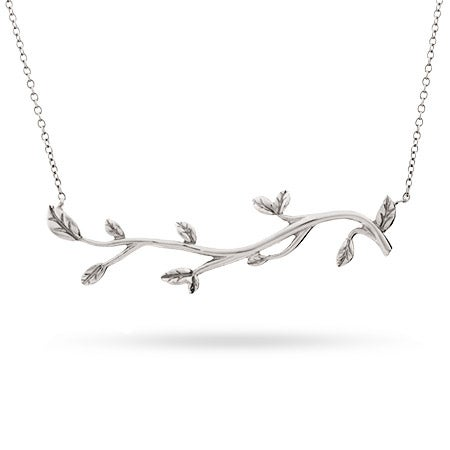 Tree Branch Sterling Silver Necklace | Eve's Addiction®