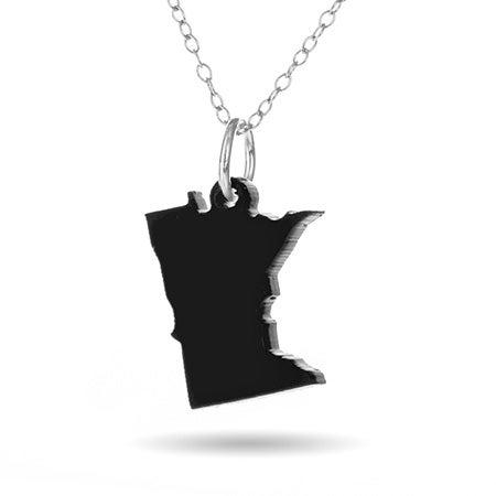 Minnesota Acrylic State Necklace | Eve's Addiction