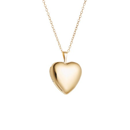 Engravable Small Heart Gold Filled Locket